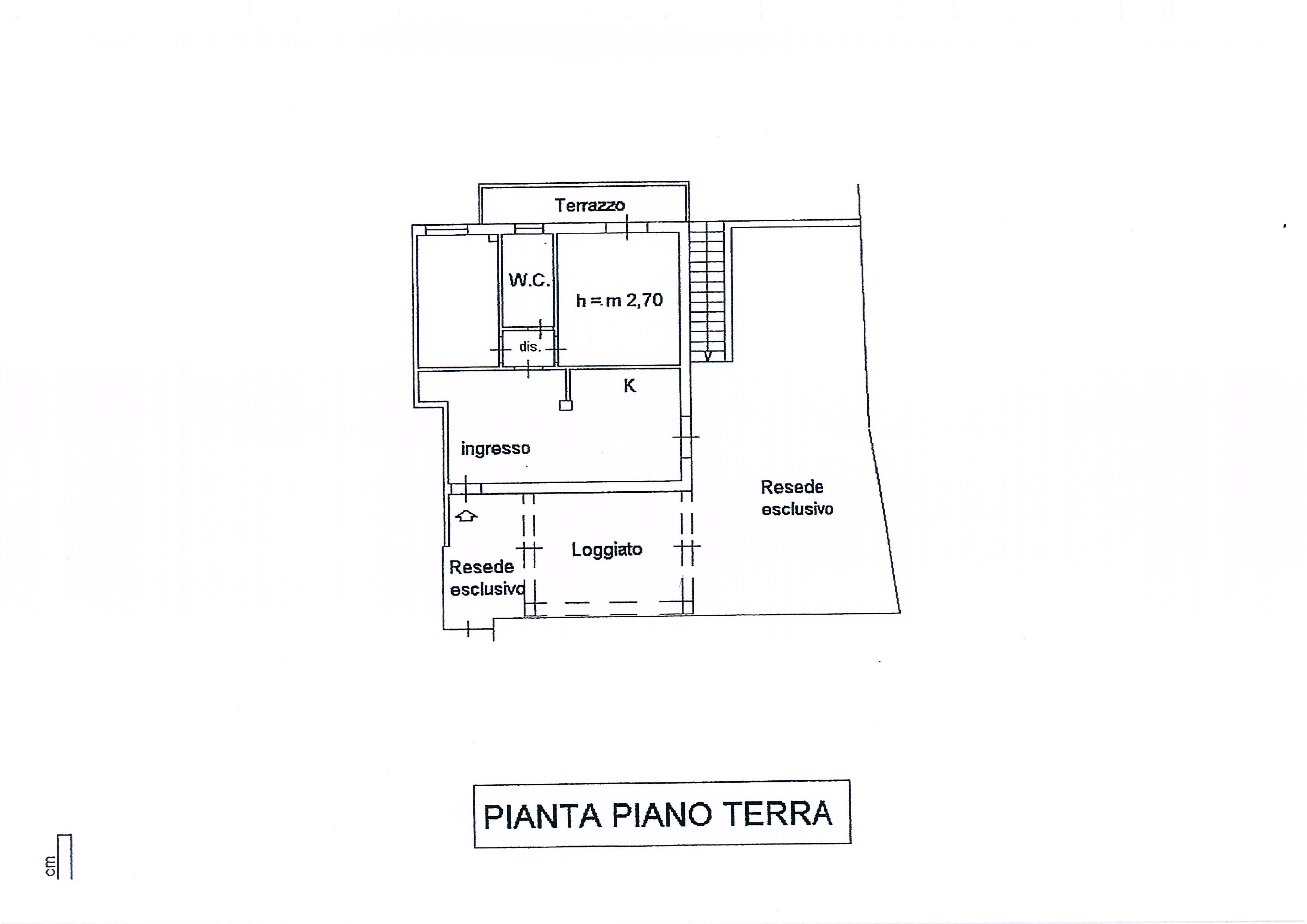 Planimetria 1/2 per rif. 2001a