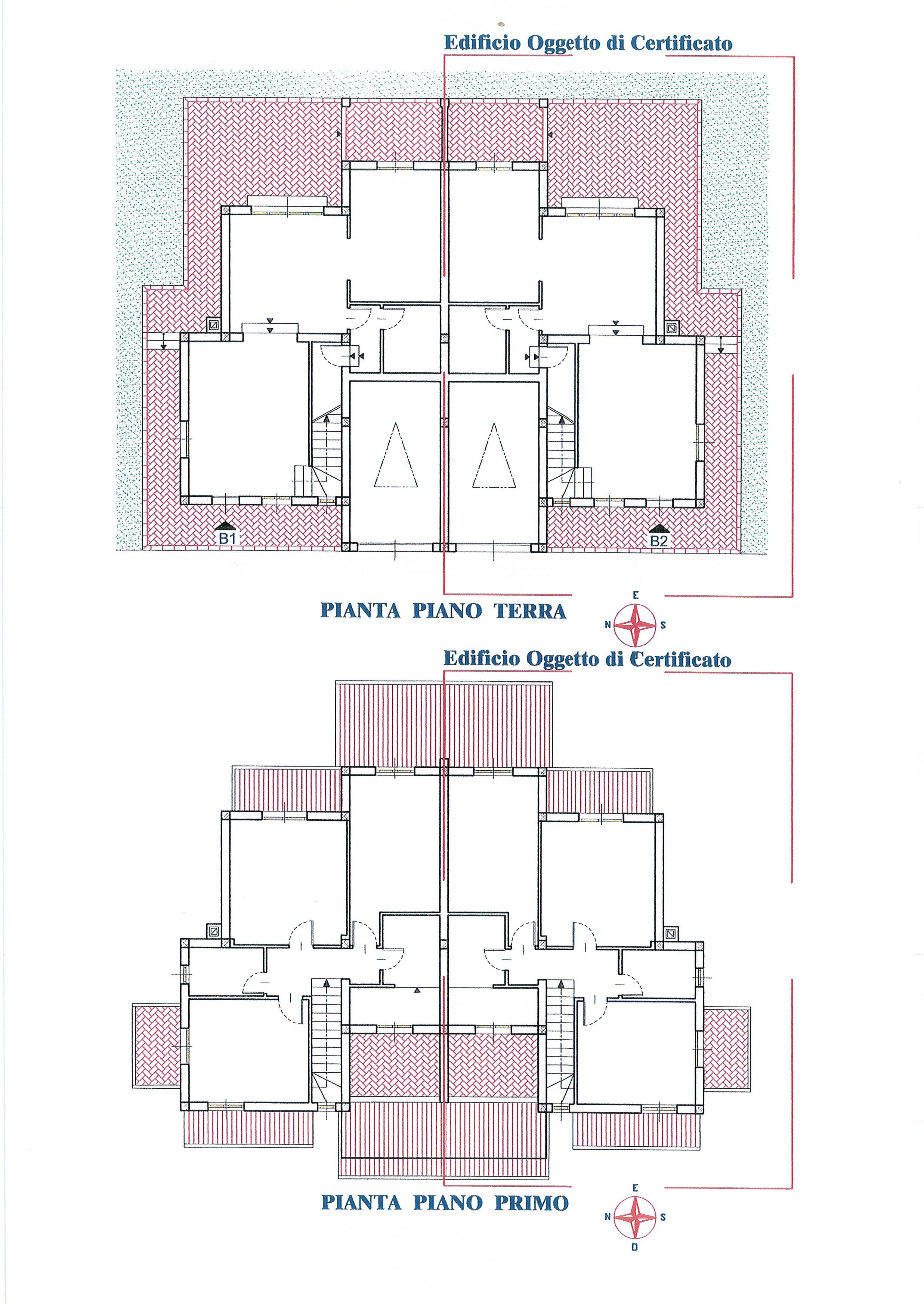 Planimetria /1 per rif. 2036a