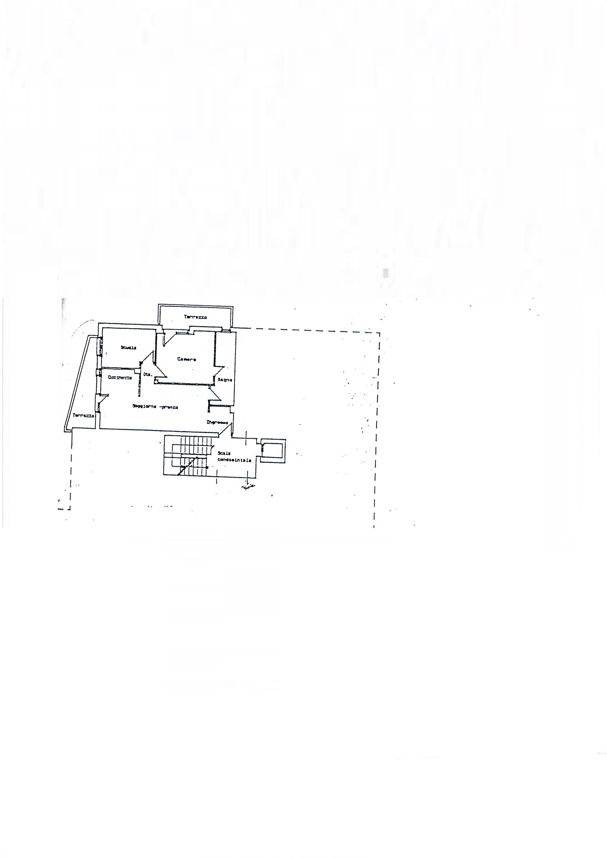 Planimetria /3 per rif. 2058a