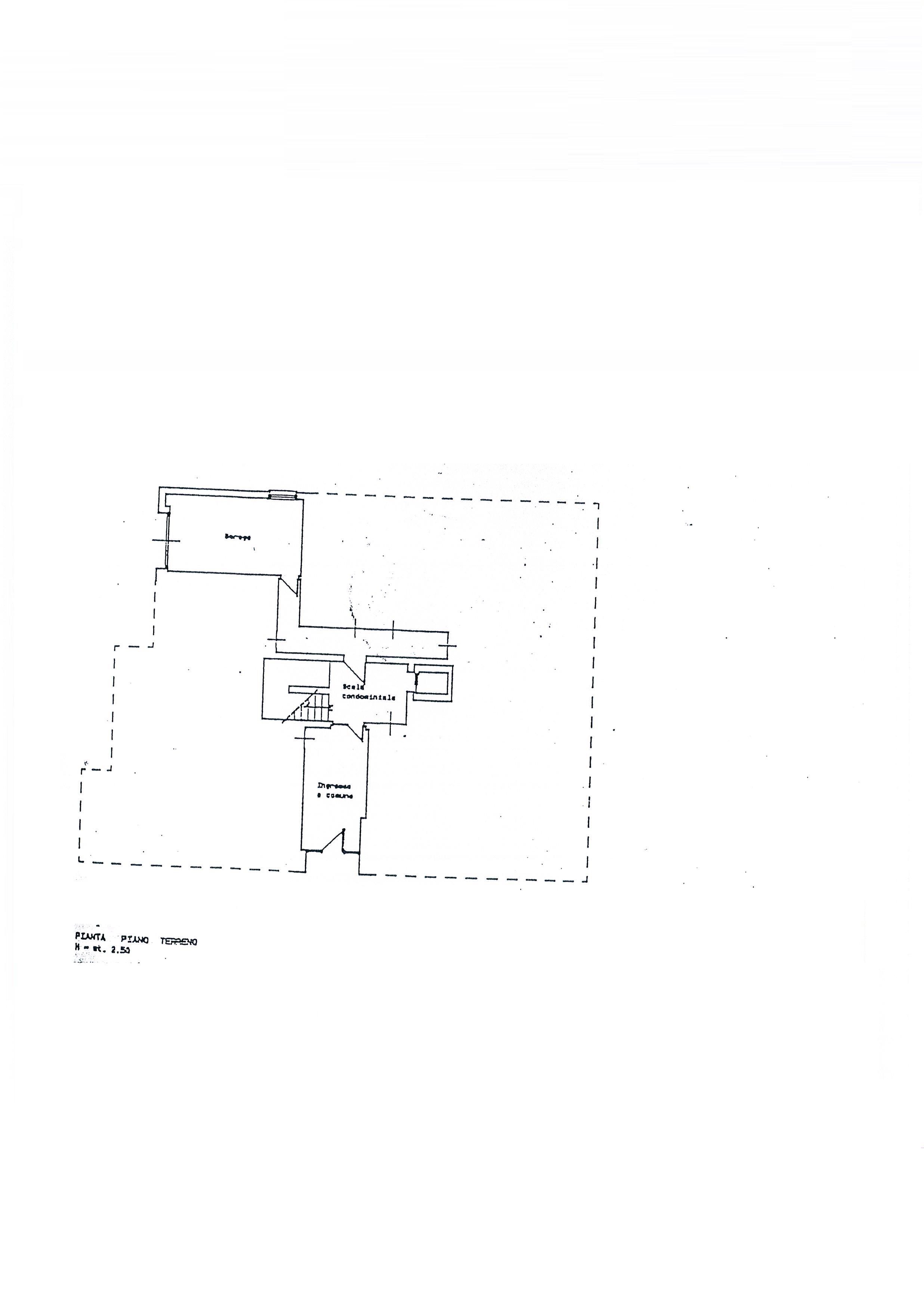Planimetria 2/3 per rif. 2058a