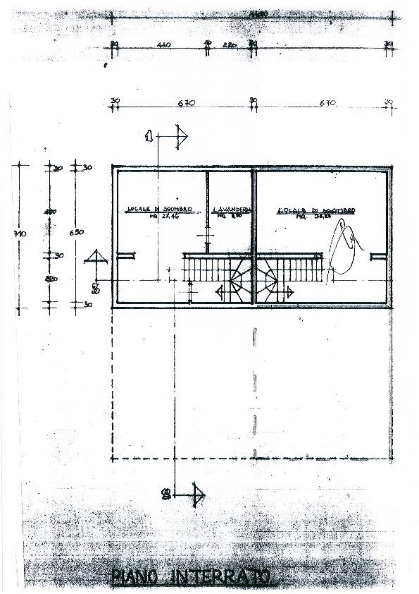 Planimetria 3/5 per rif. 2060a