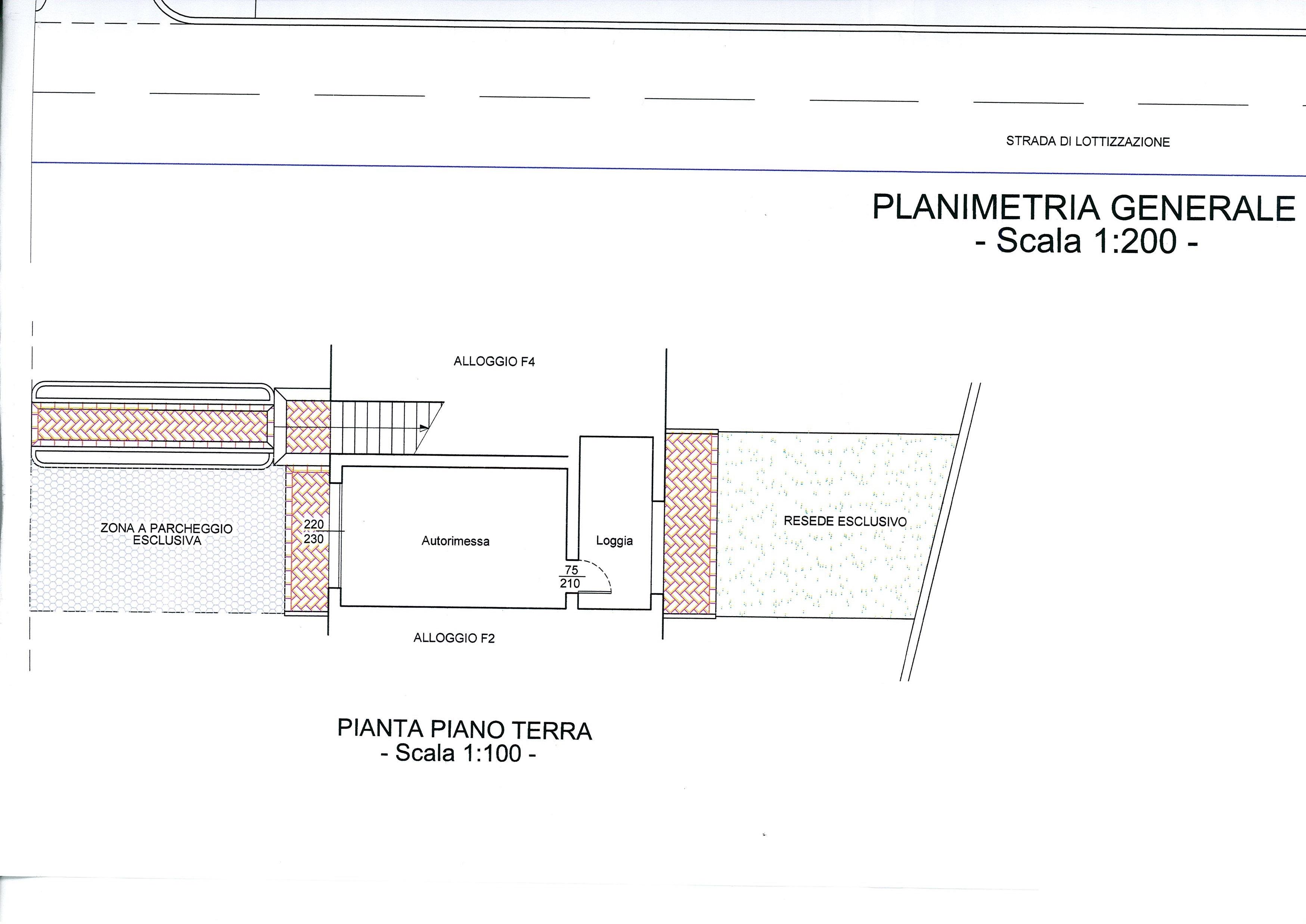 Planimetria /3 per rif. 2064a