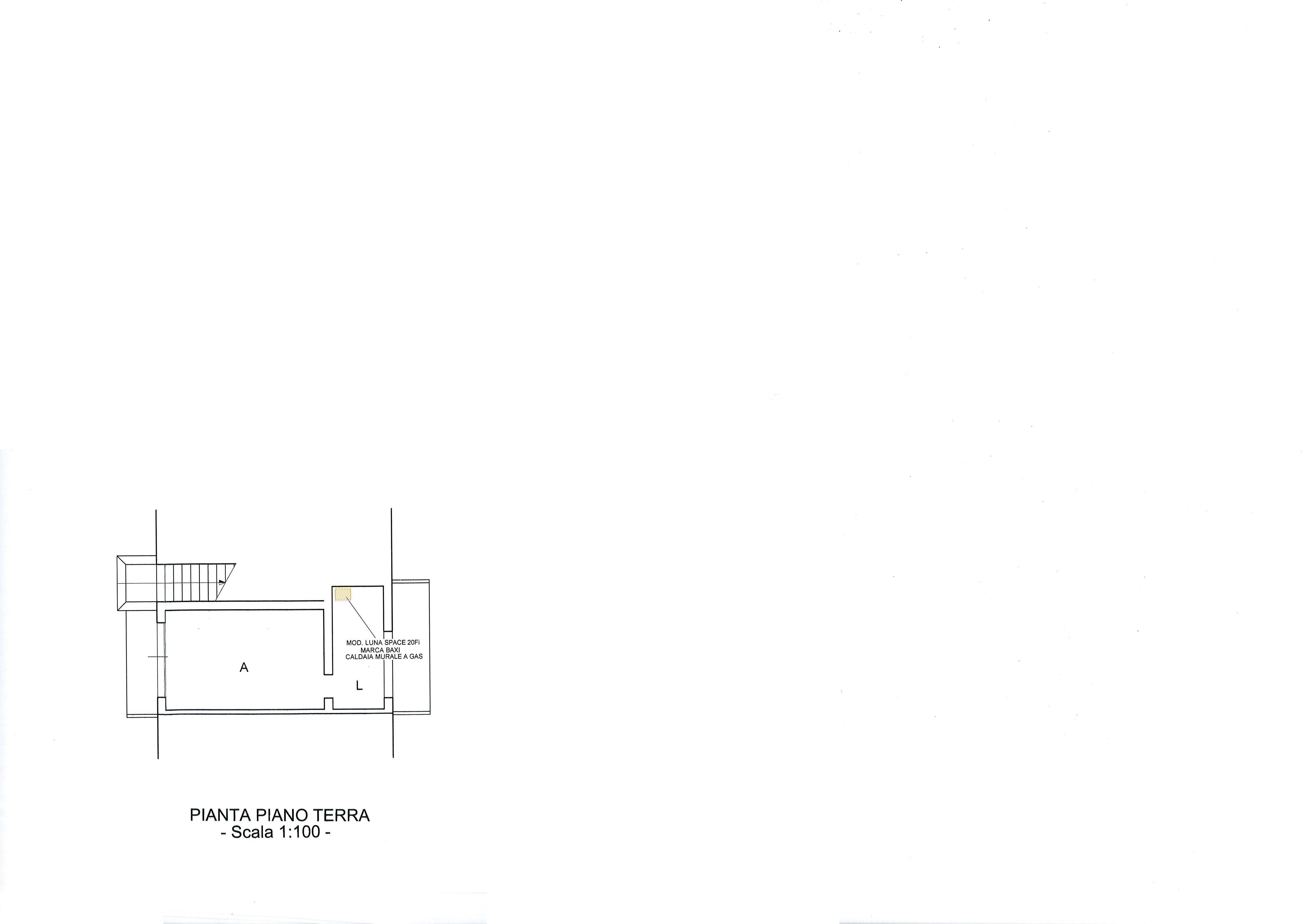 Planimetria 1/3 per rif. 2064a