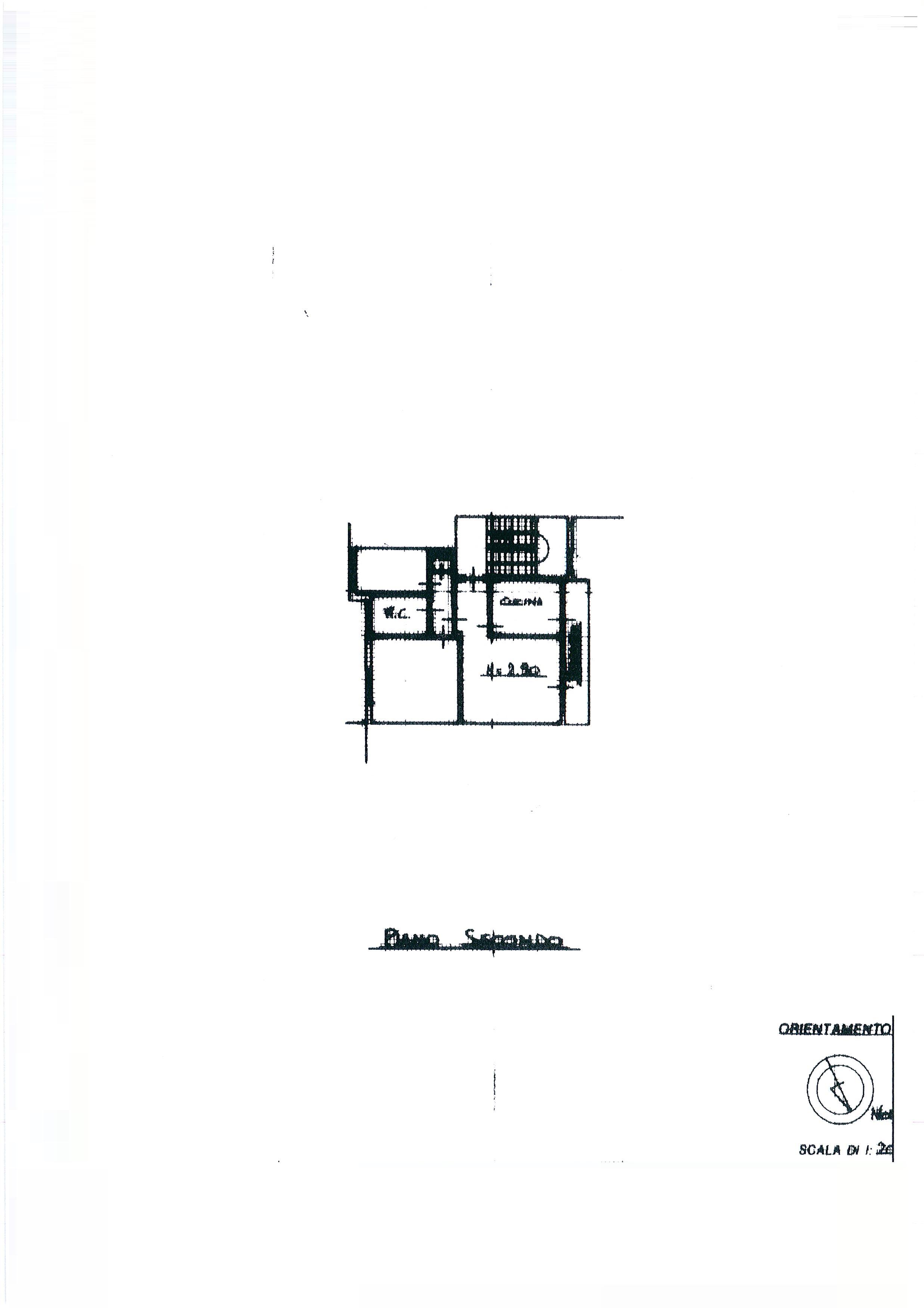 Planimetria 1/2 per rif. 2065a