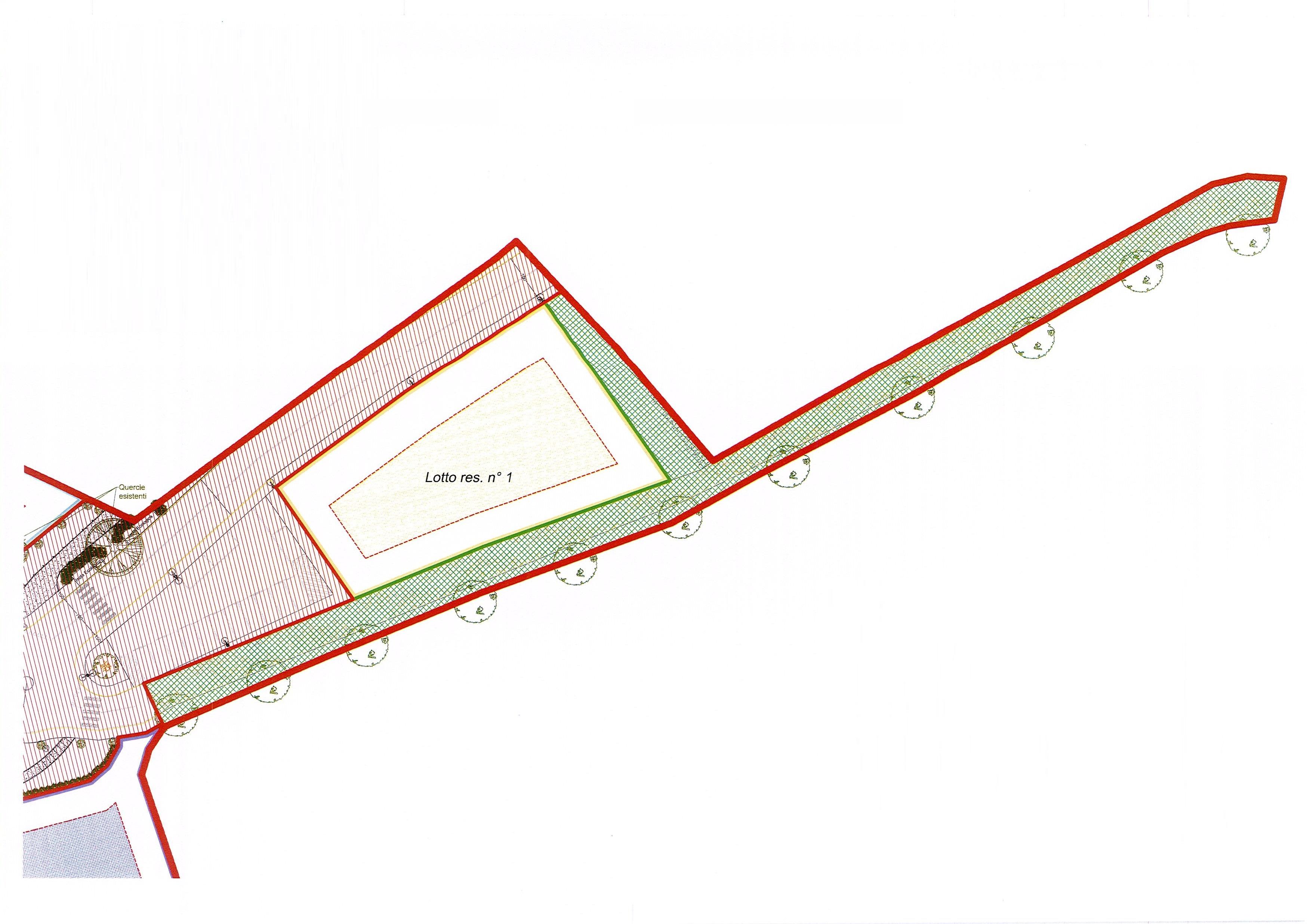 Planimetria 1/2 per rif. 2067a