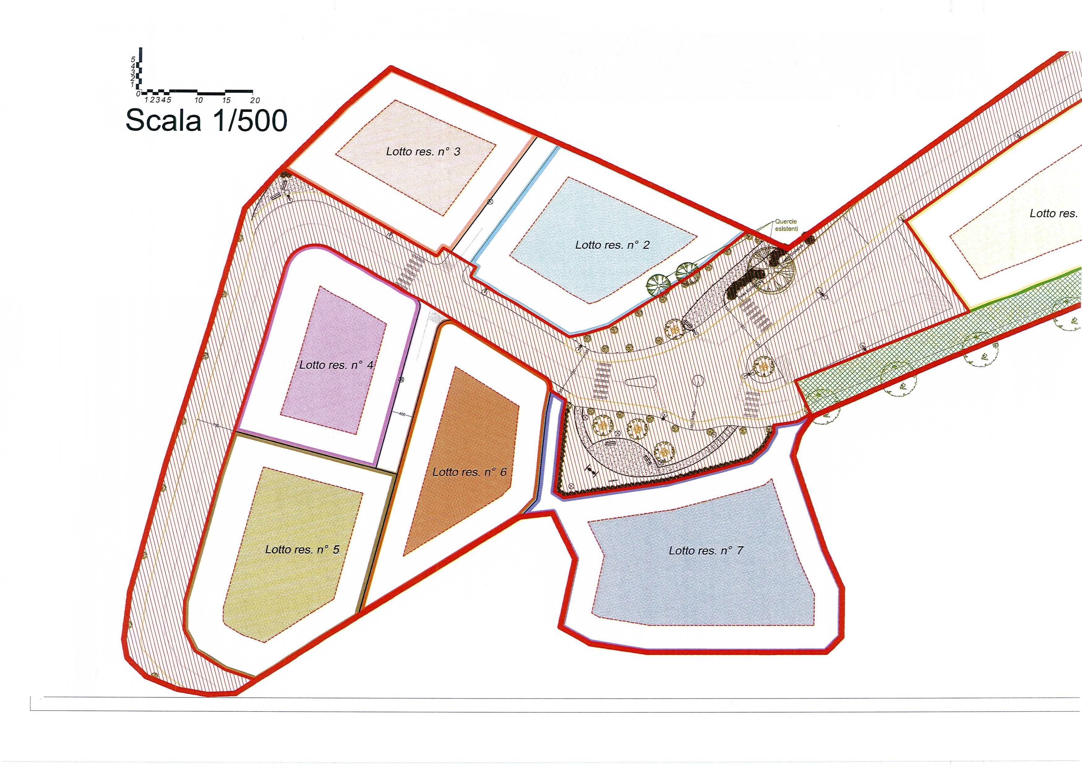 Planimetria /2 per rif. 2067a