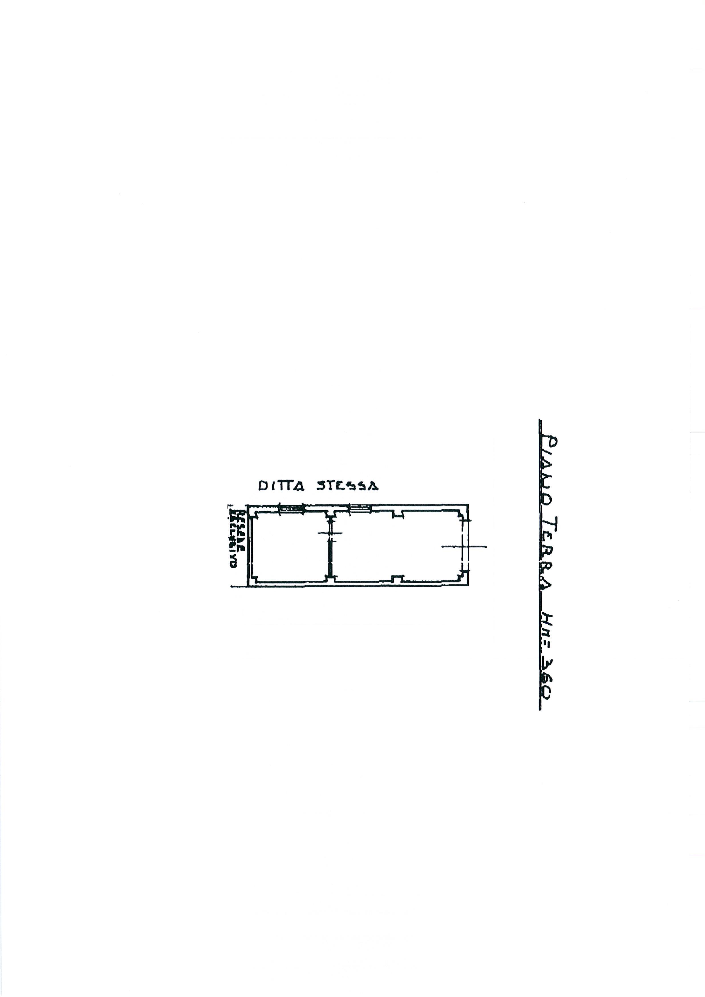 Planimetria 3/4 per rif. 2395a