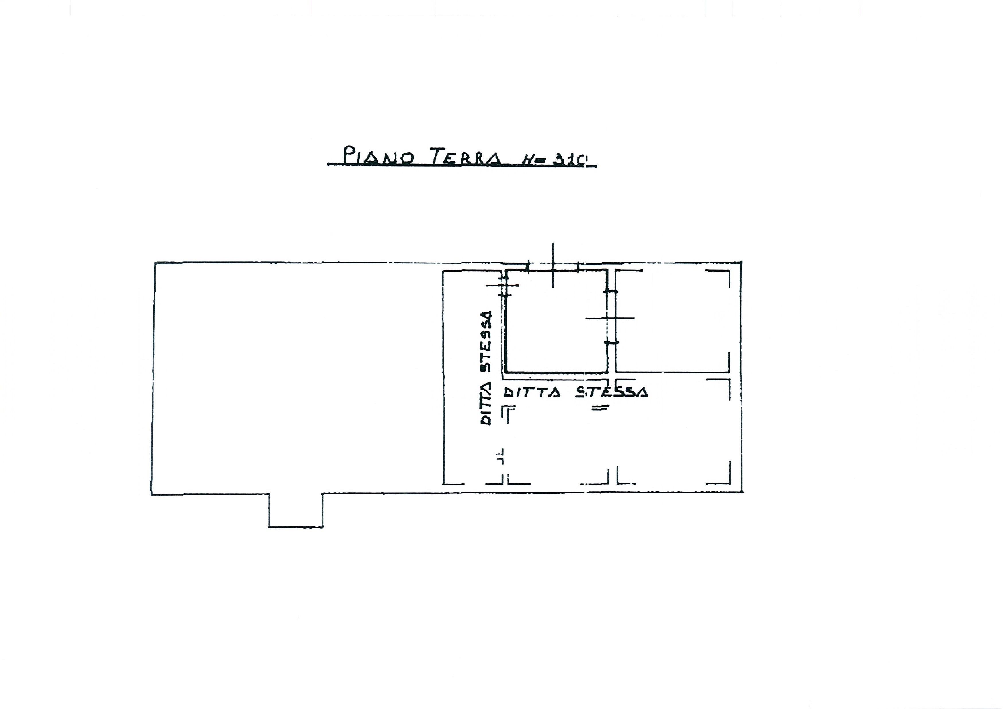 Planimetria 1/4 per rif. 2395a