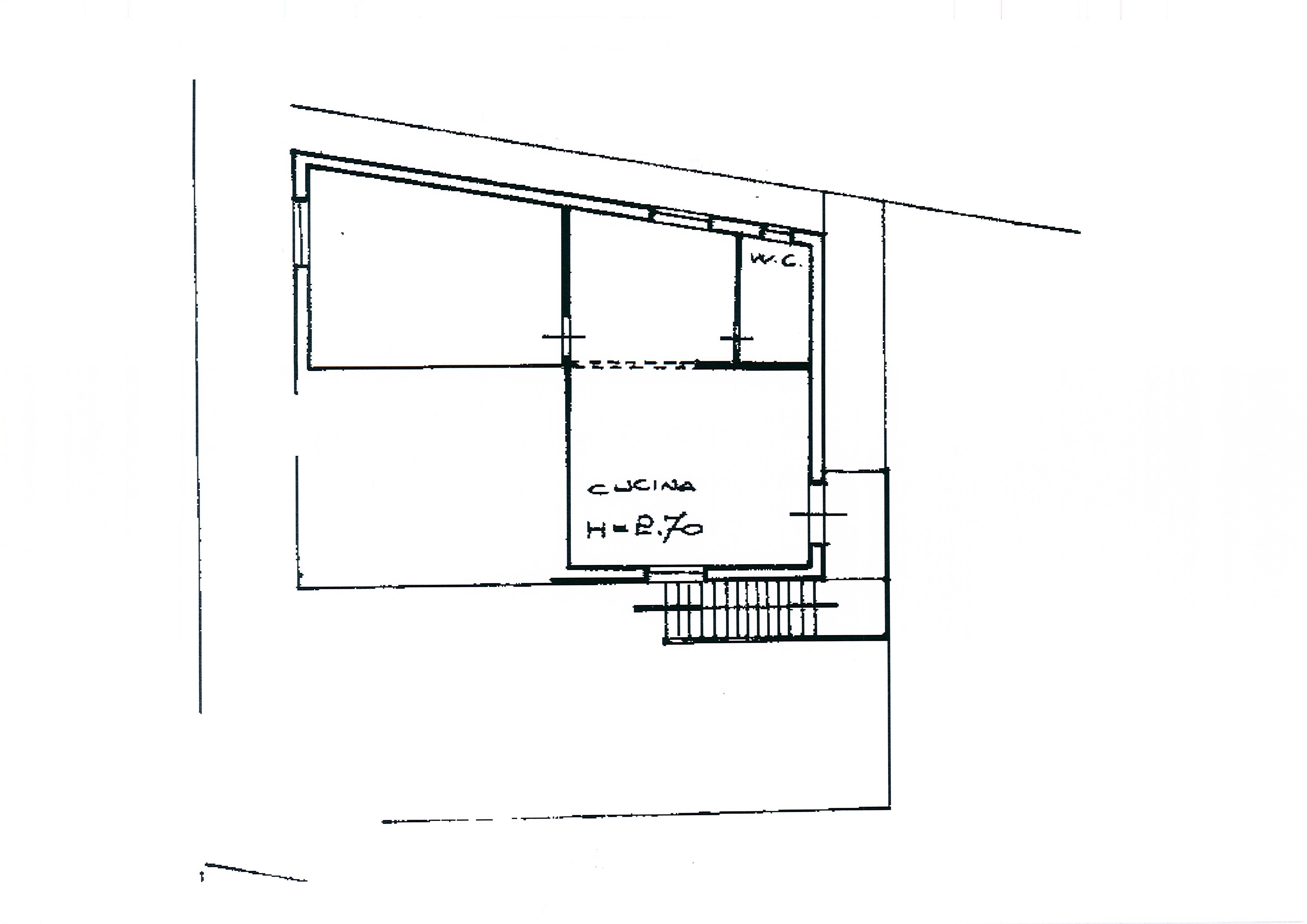 Planimetria 1/2 per rif. 2590a