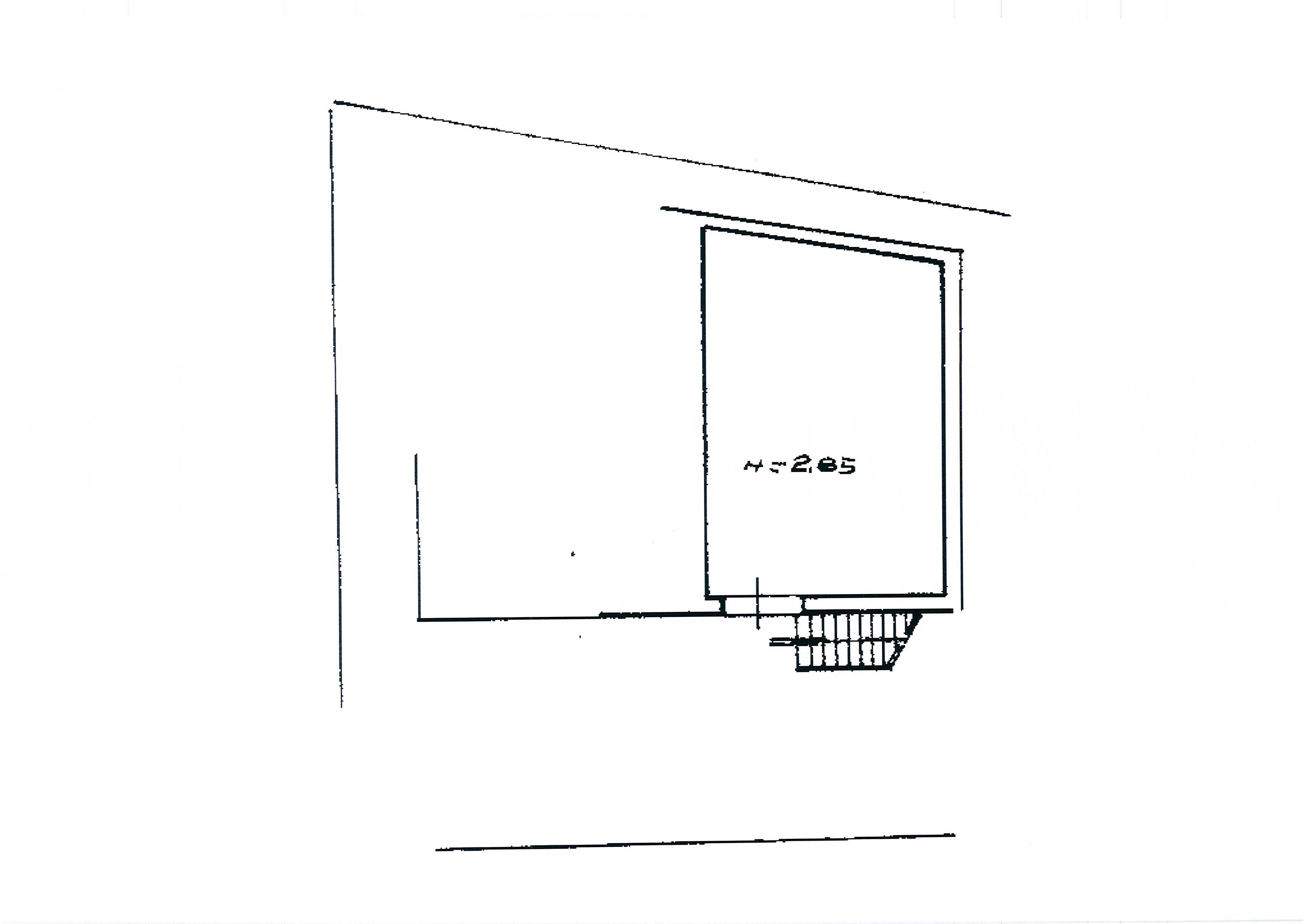 Planimetria 2/2 per rif. 2590a