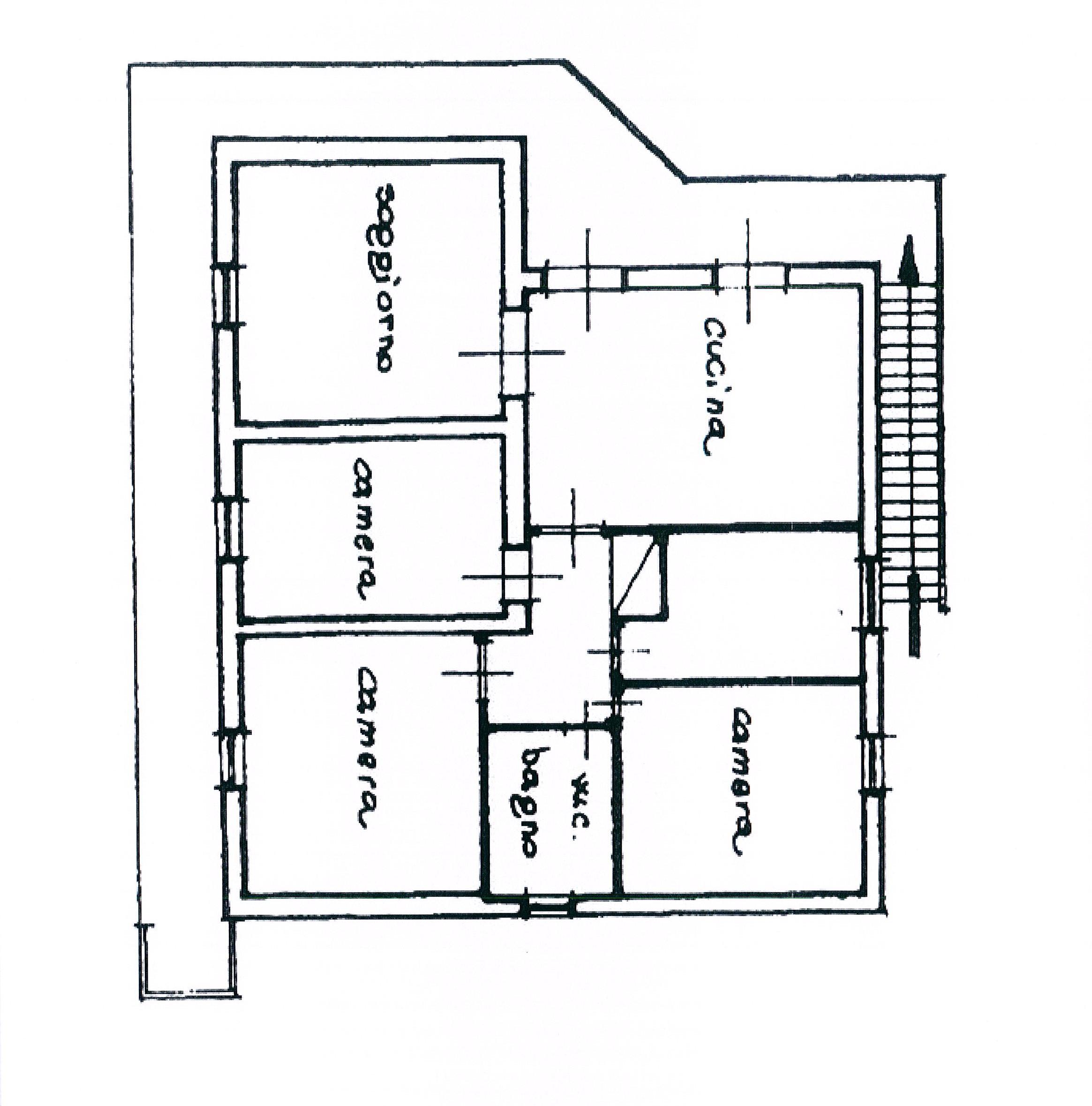 Planimetria 2/3 per rif. 2227a