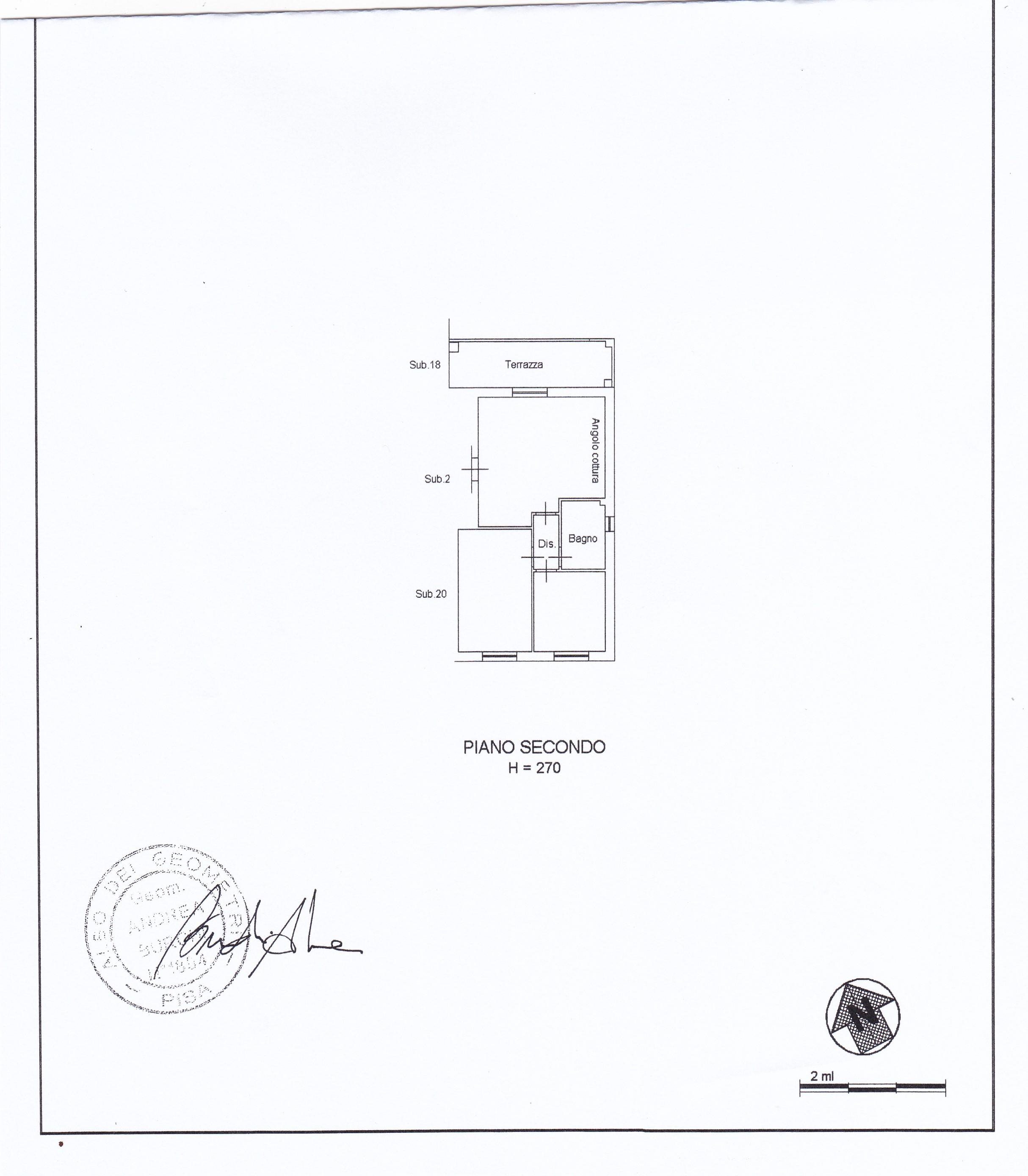 Planimetria 1/1 per rif. 2269a