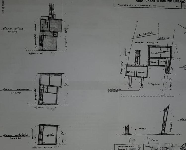 Planimetria 1/1 per rif. 2279a