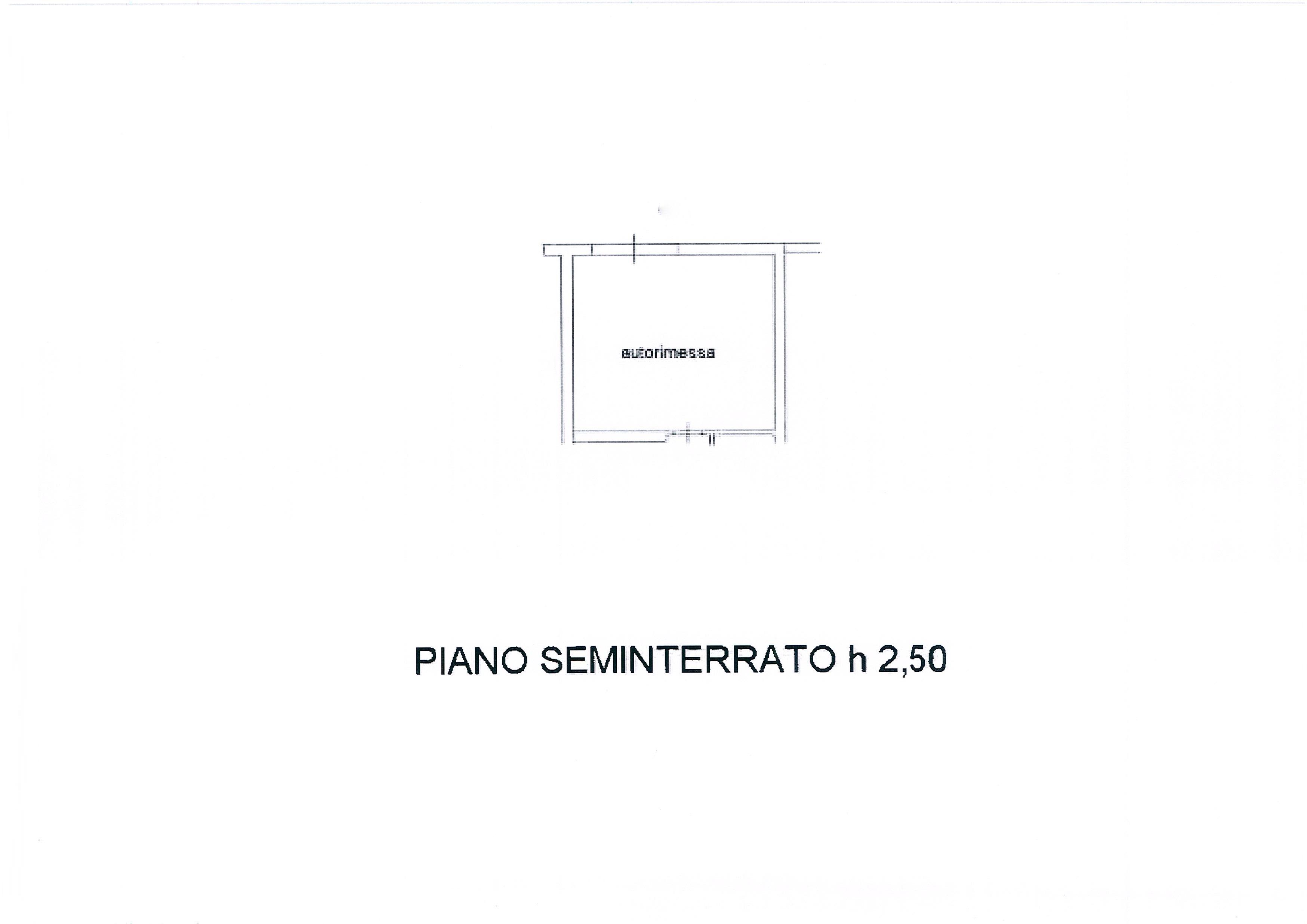 Planimetria 2/2 per rif. 2305a