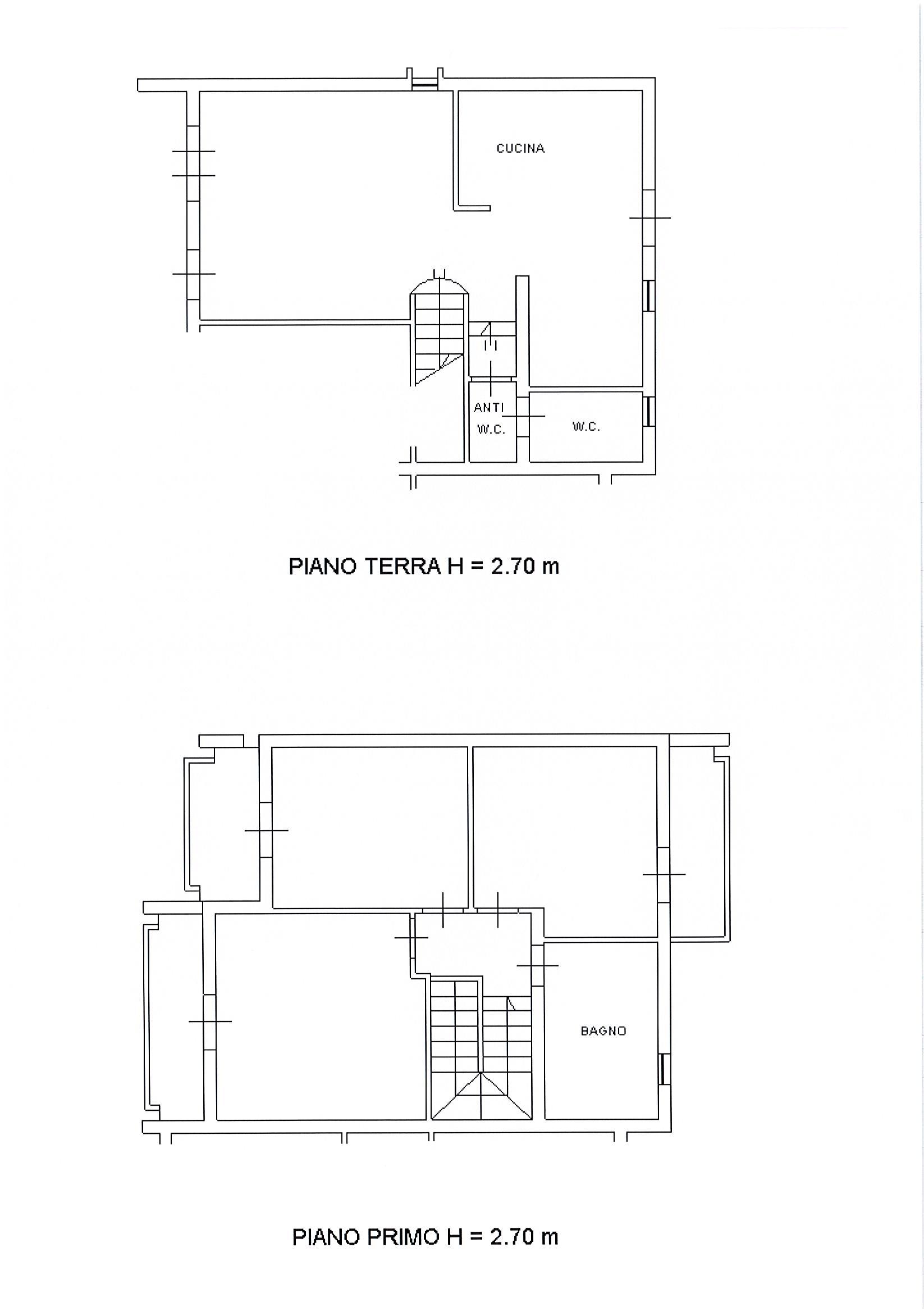 Planimetria 1/2 per rif. 2309a