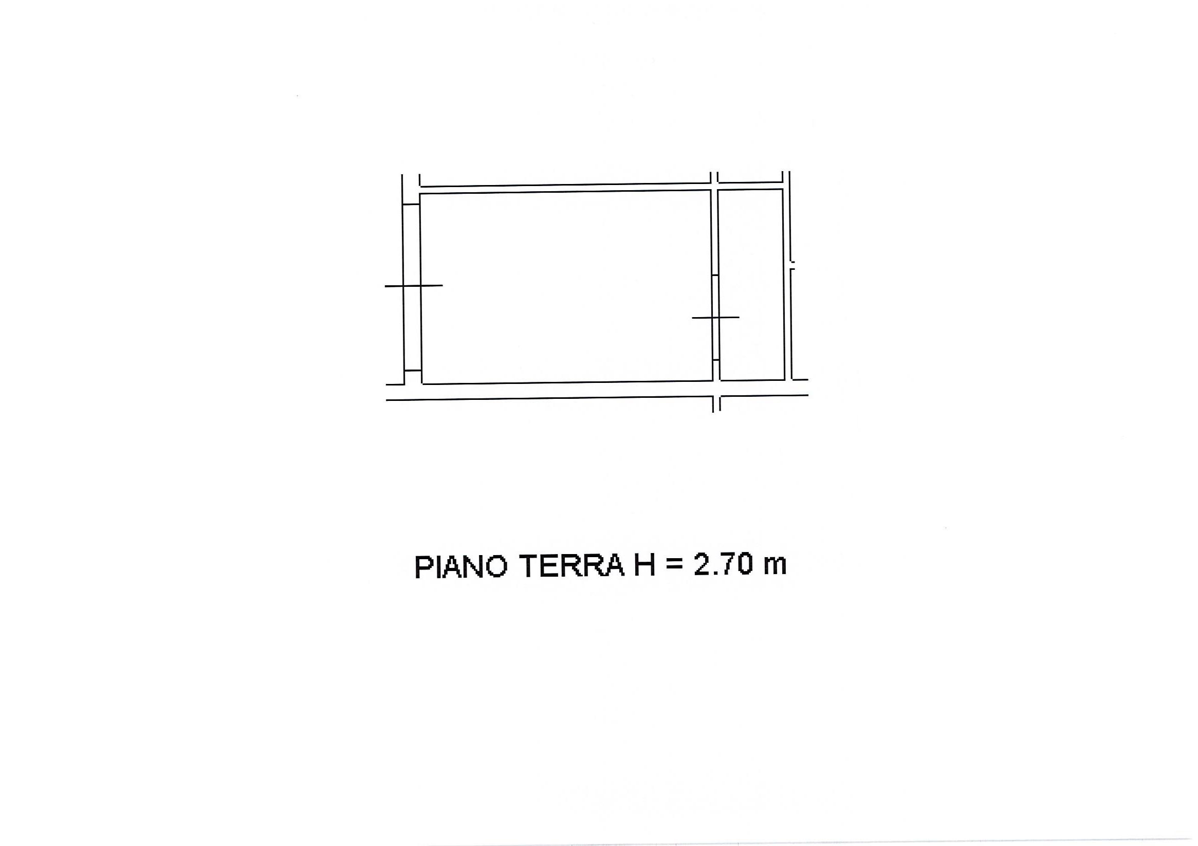 Planimetria 2/2 per rif. 2309a