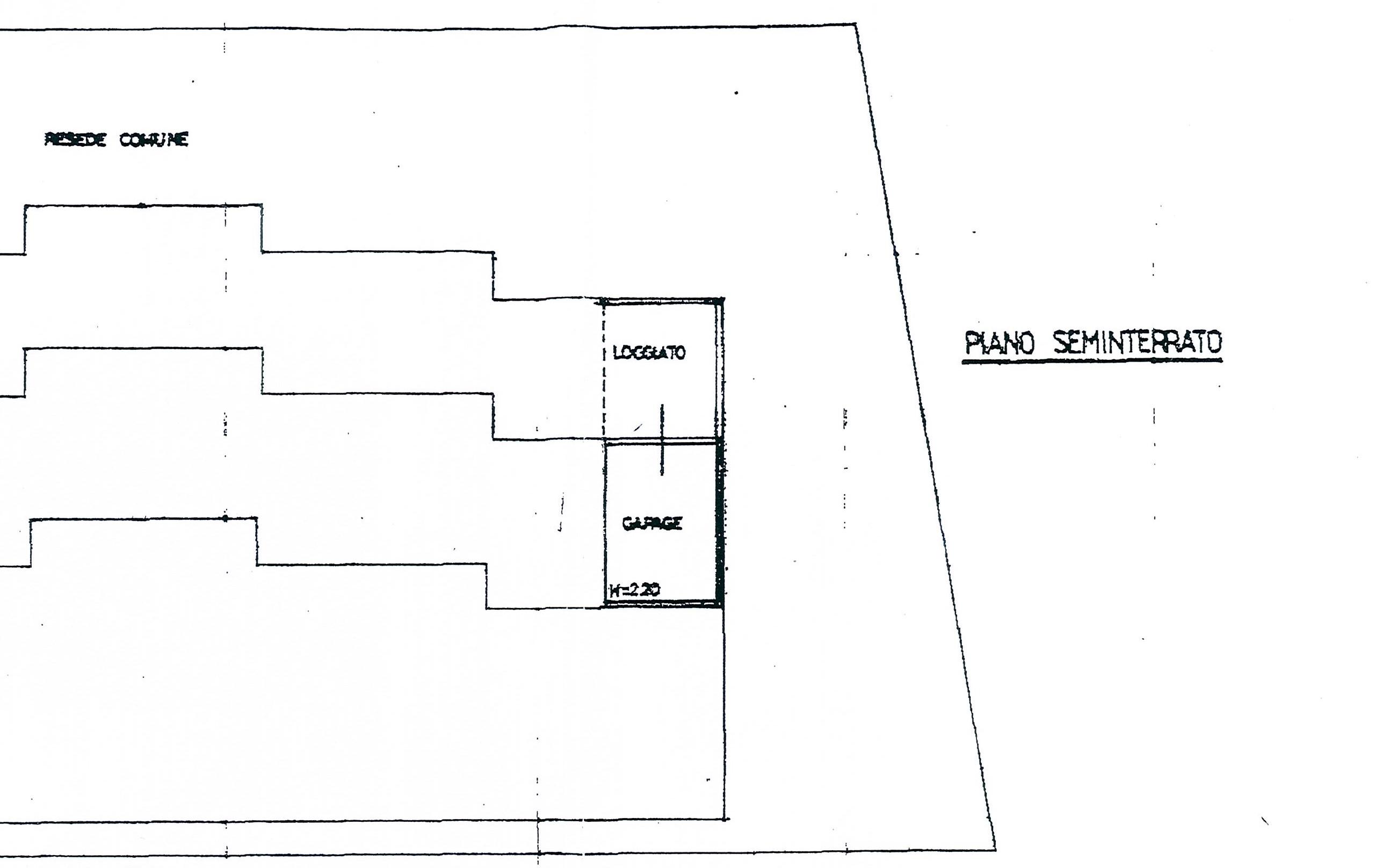 Planimetria 1/2 per rif. 2317a