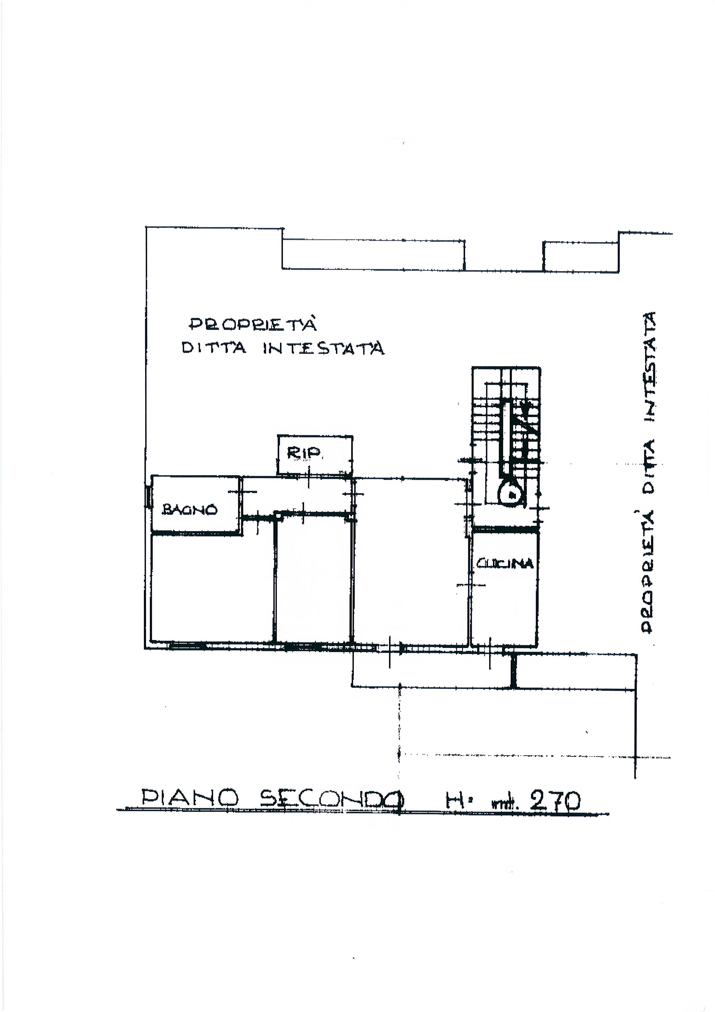 Planimetria 1/2 per rif. 2324a
