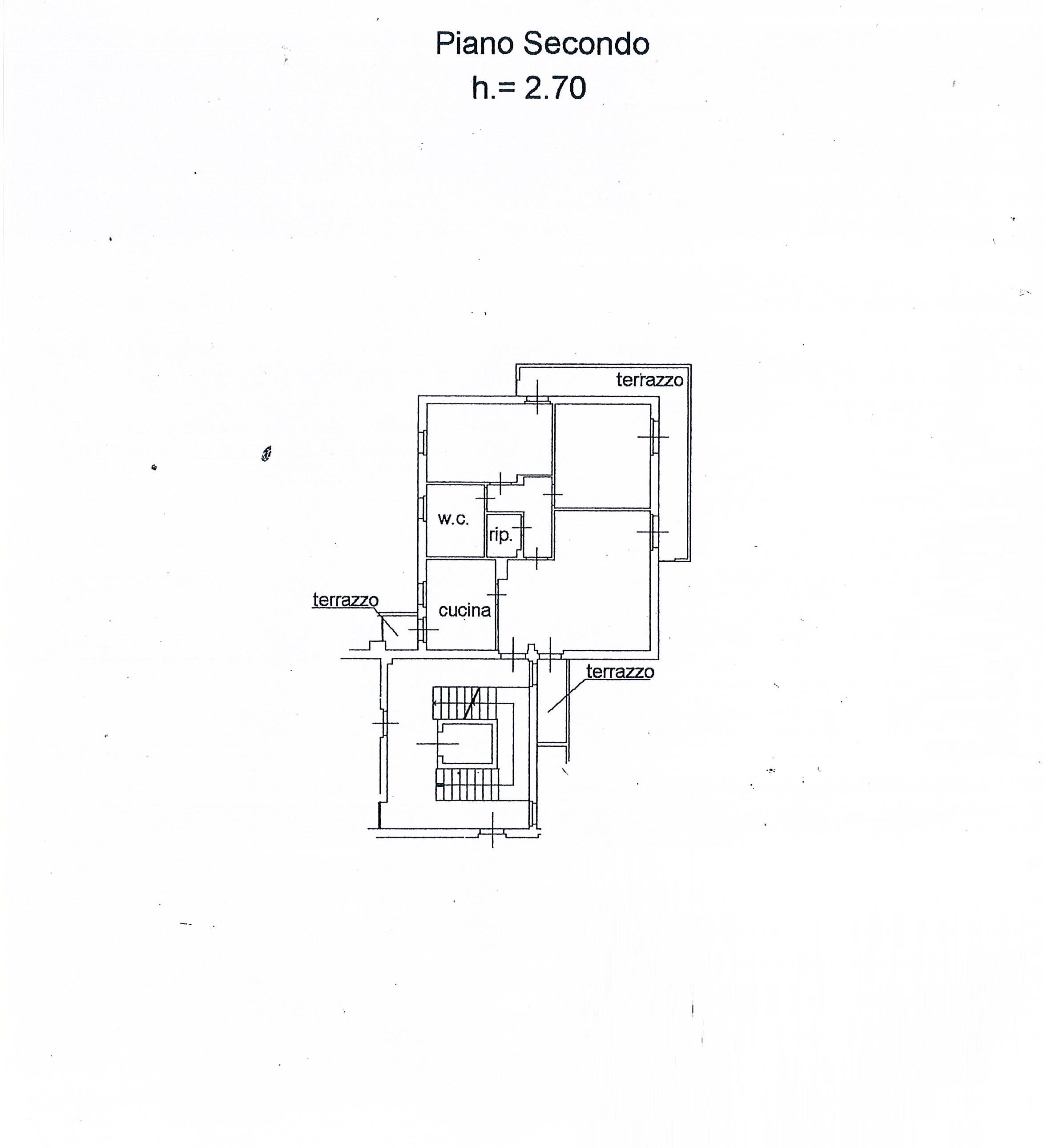 Planimetria 1/1 per rif. 2668a