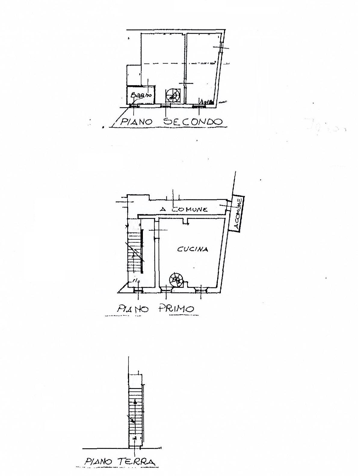 Planimetria 1/1 per rif. 2464a