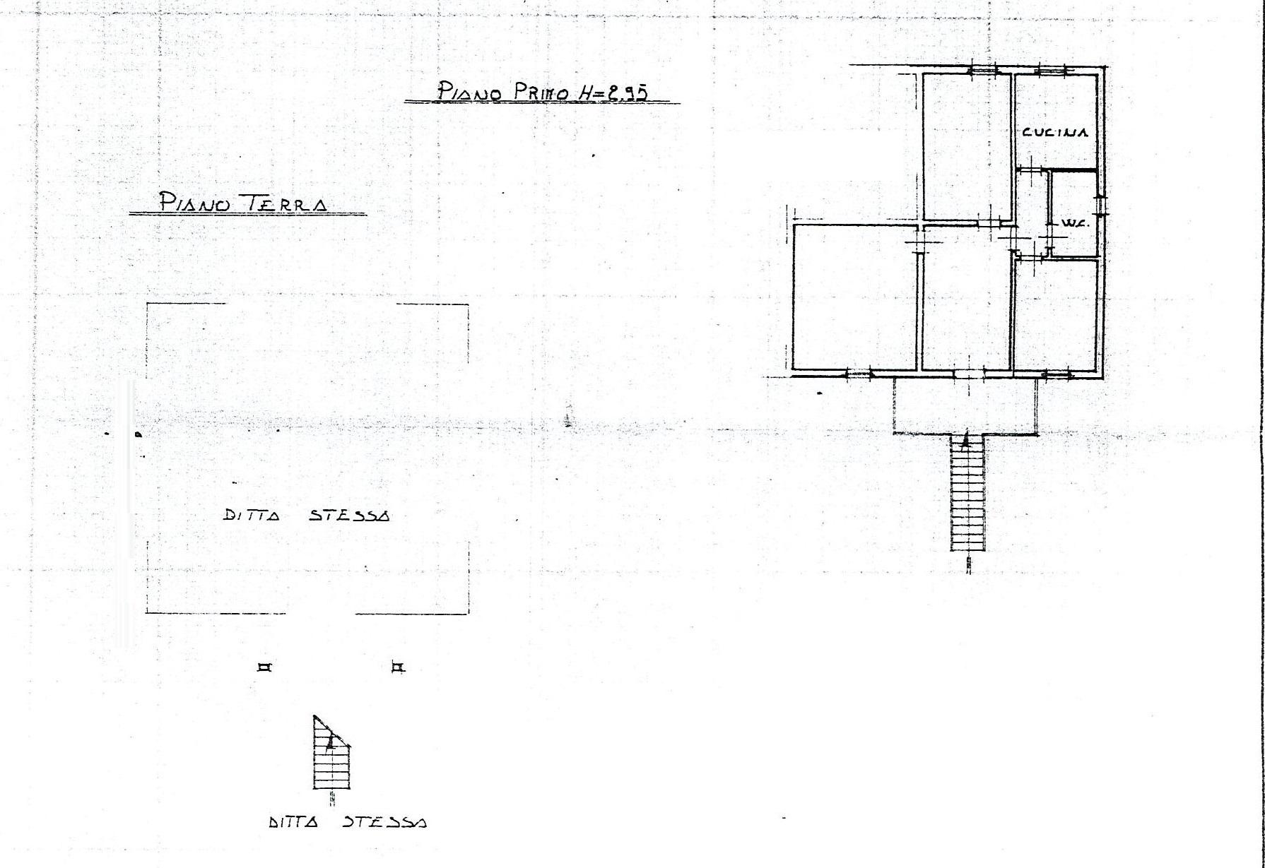 Planimetria 1/1 per rif. 2383a