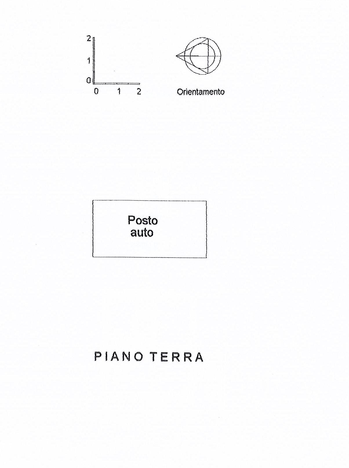 Planimetria 2/2 per rif. 2468a