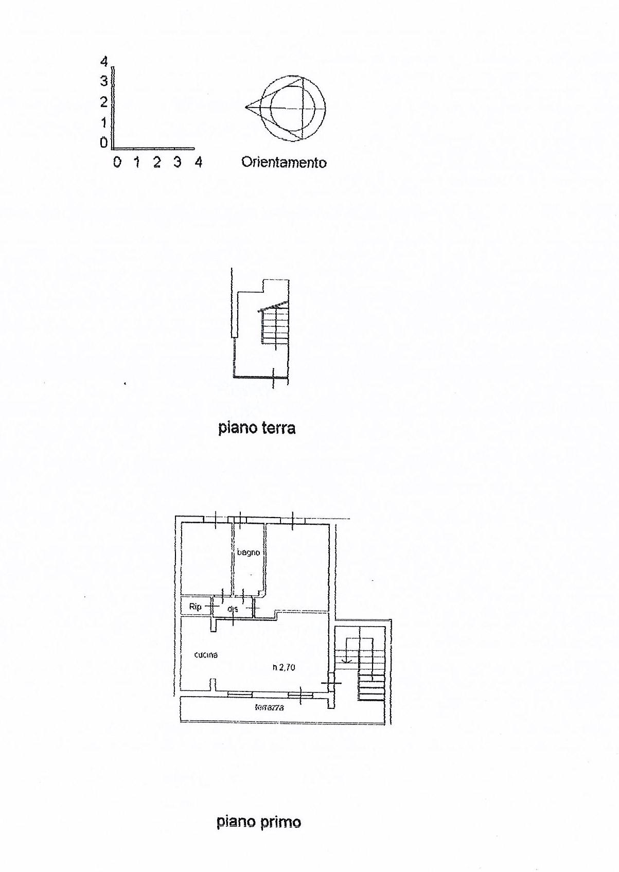 Planimetria 1/2 per rif. 2468a