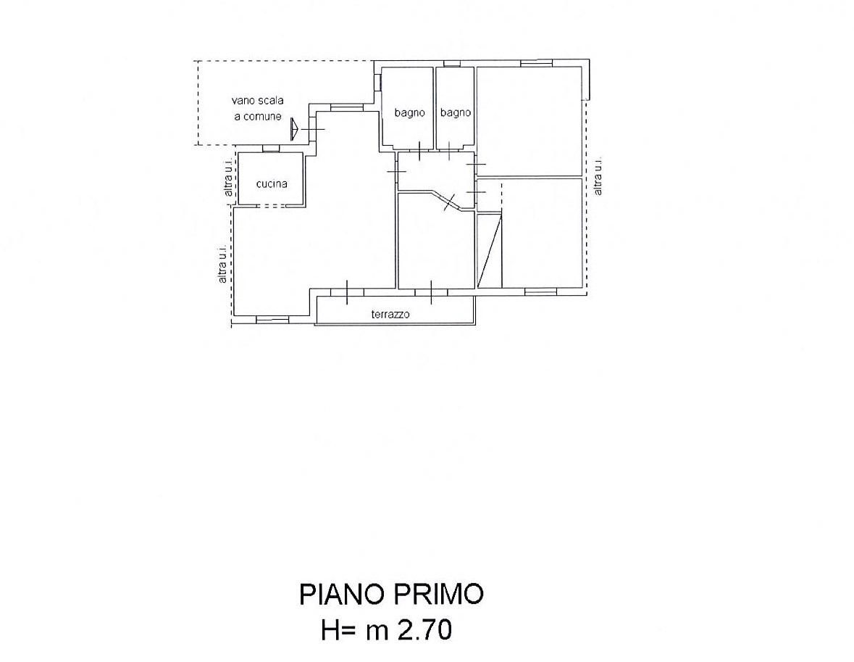 Planimetria 1/2 per rif. 2480a