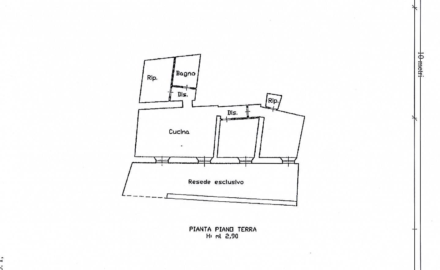 Planimetria 1/1 per rif. 2508a