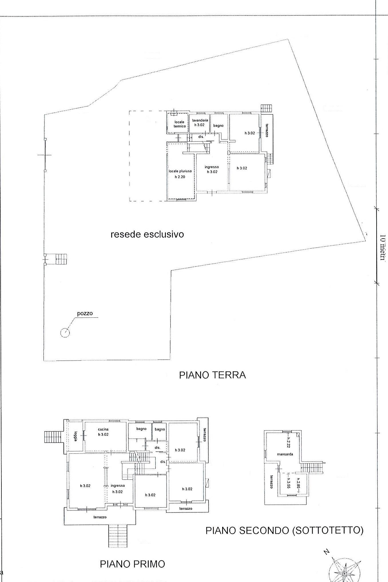 Planimetria 1/2 per rif. 2530a