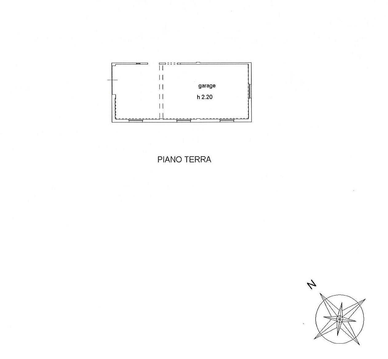 Planimetria 2/2 per rif. 2530a