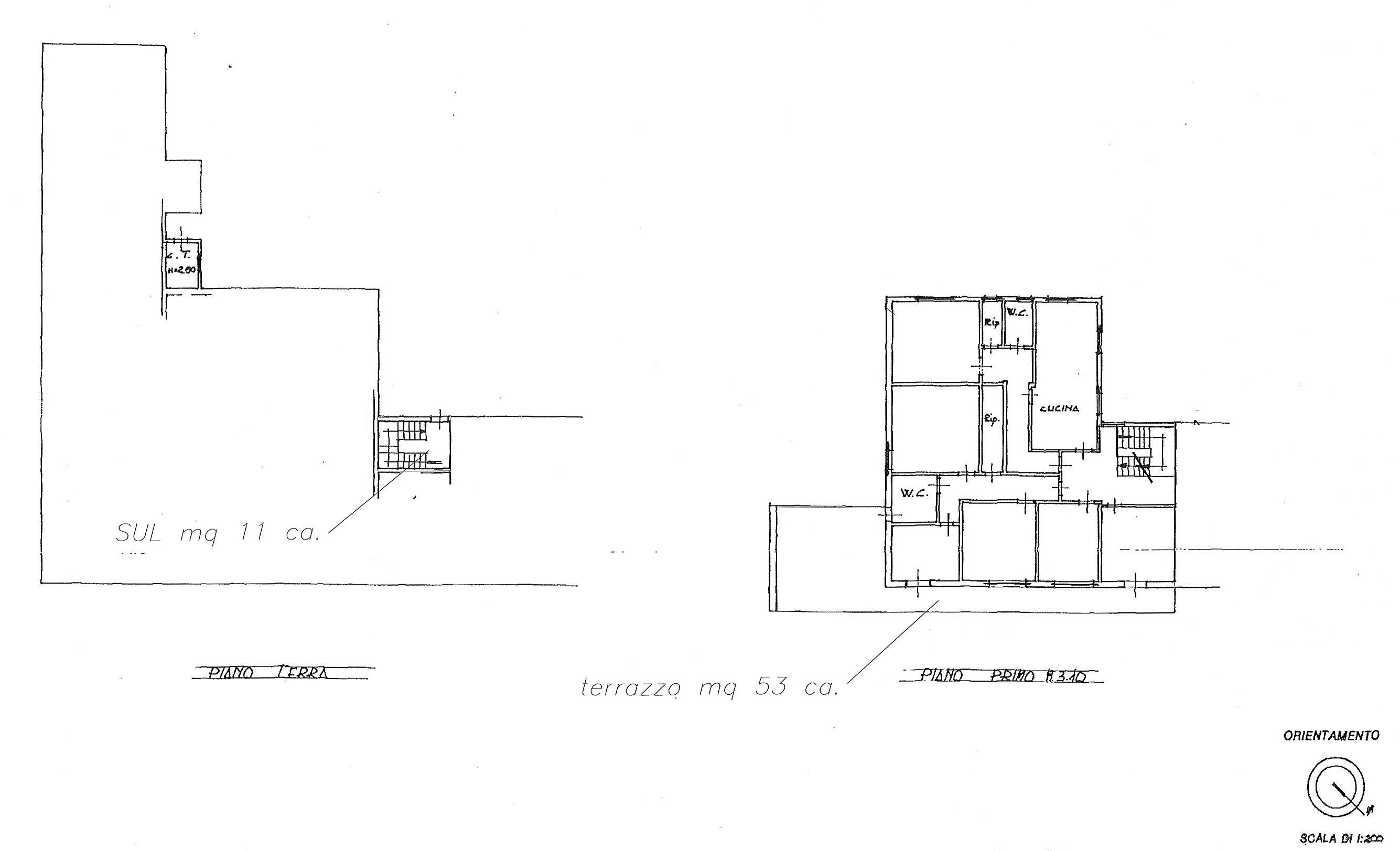 Planimetria 1/1 per rif. 2532a