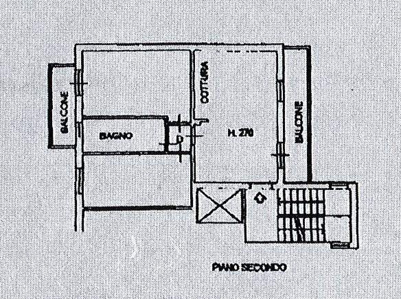 Planimetria 1/2 per rif. 2593a