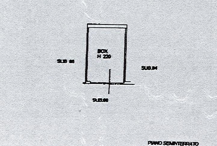 Planimetria 2/2 per rif. 2593a