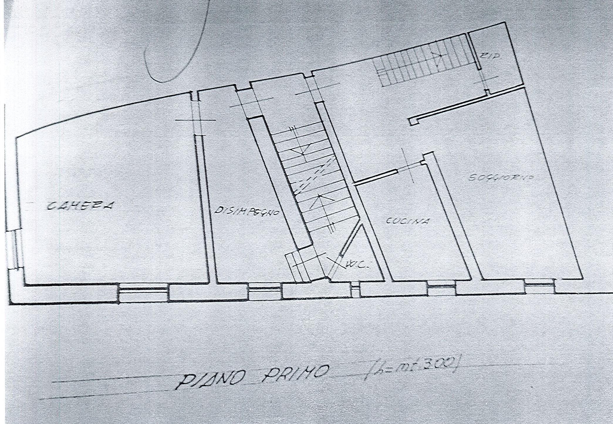 Planimetria 2/3 per rif. 2610a