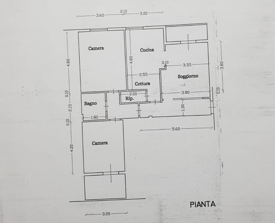 Planimetria 1/1 per rif. 2627a