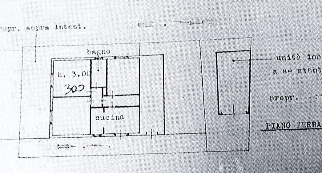 Planimetria 1/1 per rif. 2638a