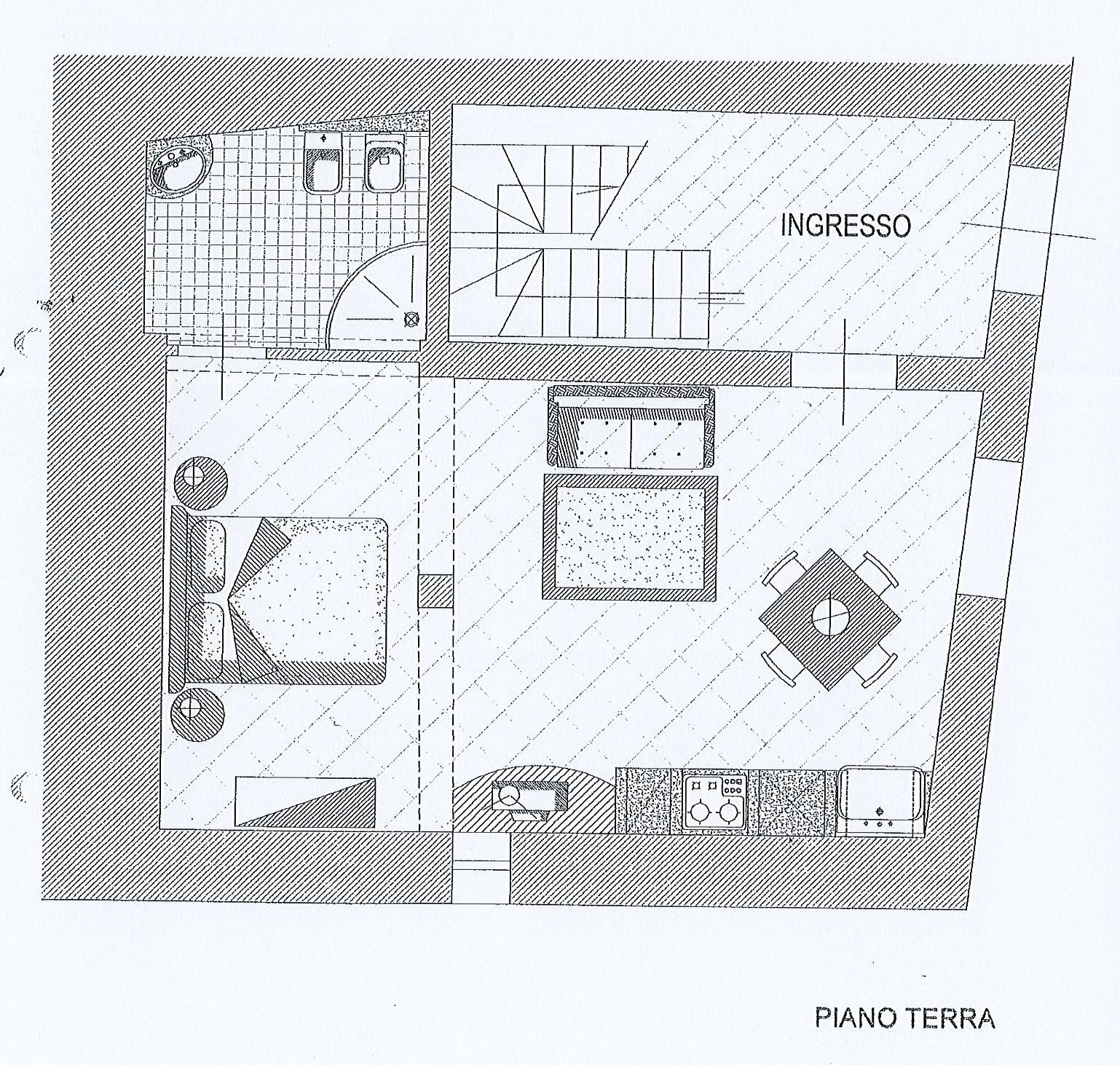 Planimetria 3/5 per rif. 2655a