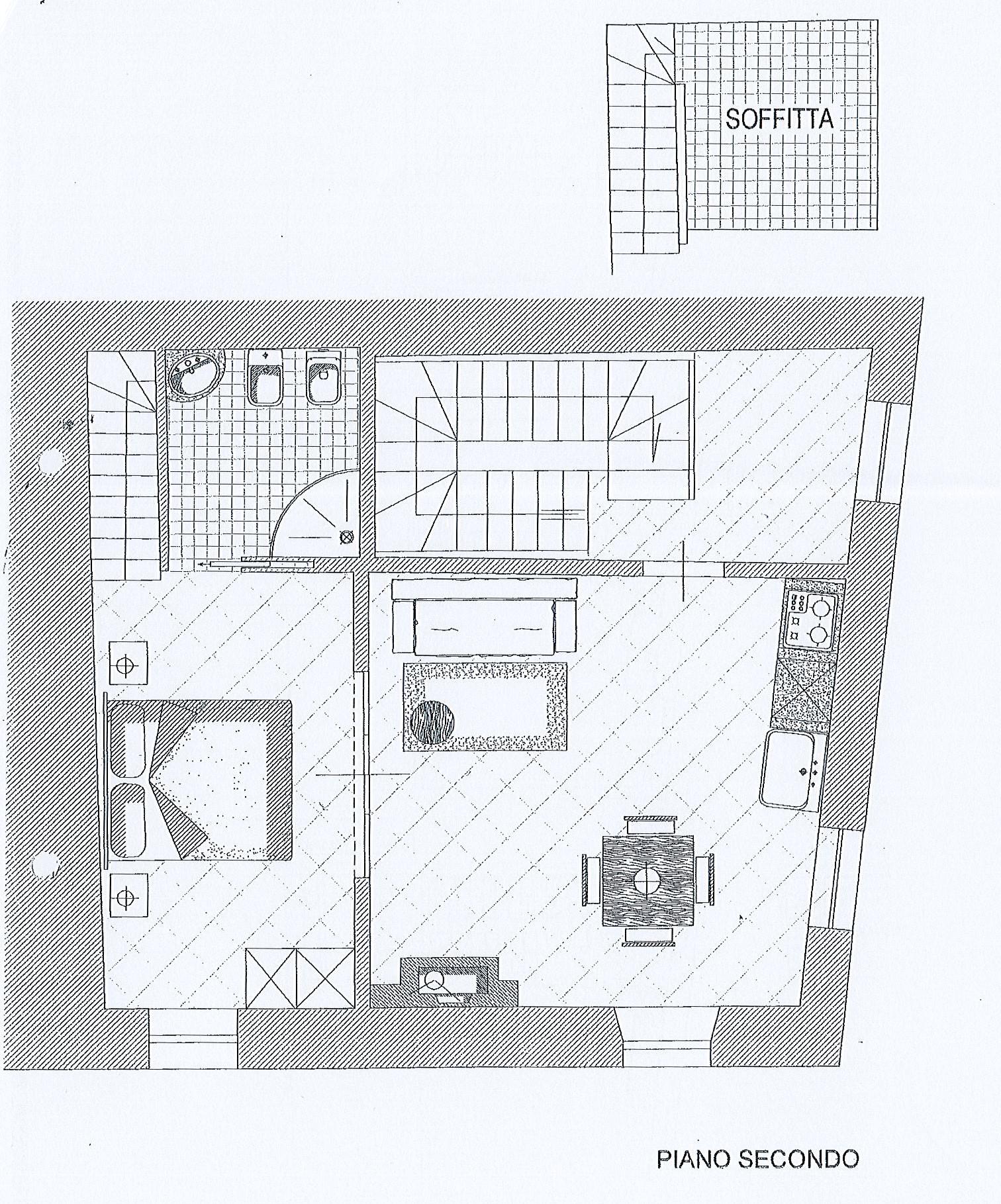 Planimetria 1/5 per rif. 2655a
