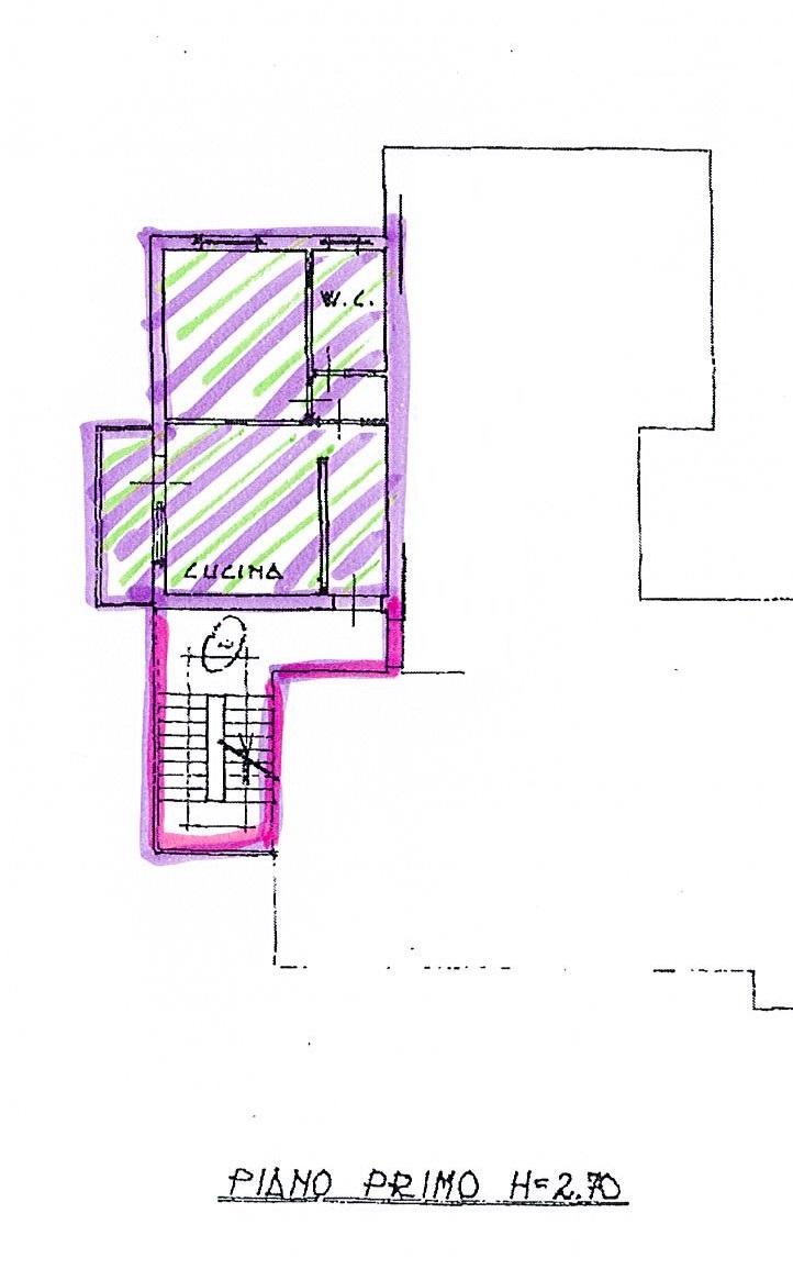 Planimetria 1/2 per rif. 2664a