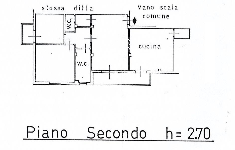 Planimetria 1/3 per rif. 2687a