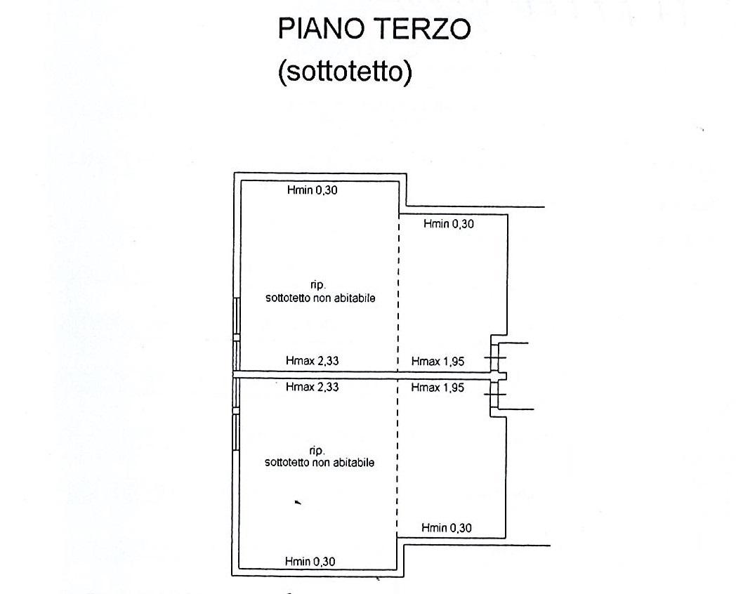 Planimetria 2/3 per rif. 2687a
