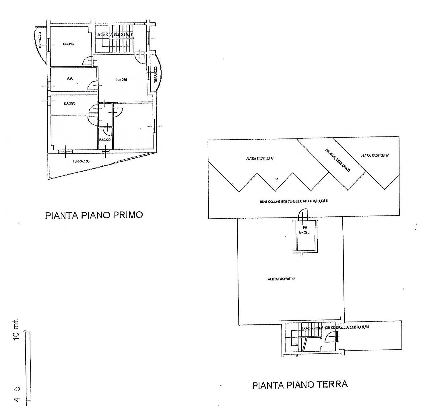 Planimetria 1/1 per rif. 2698a