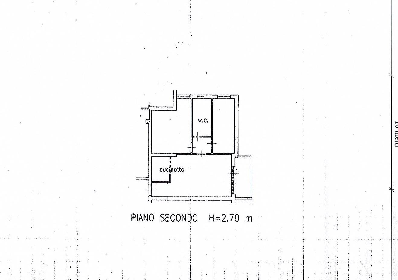 Planimetria 1/2 per rif. 2716a