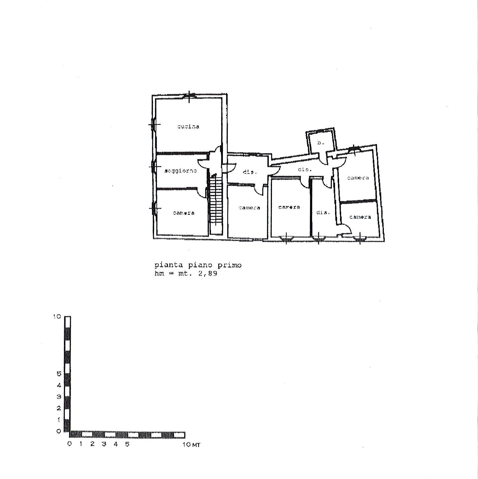 Planimetria 1/3 per rif. 2717a