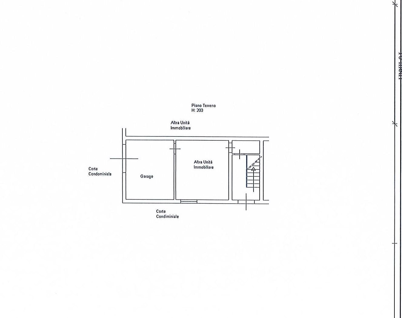Planimetria 2/2 per rif. 2727a