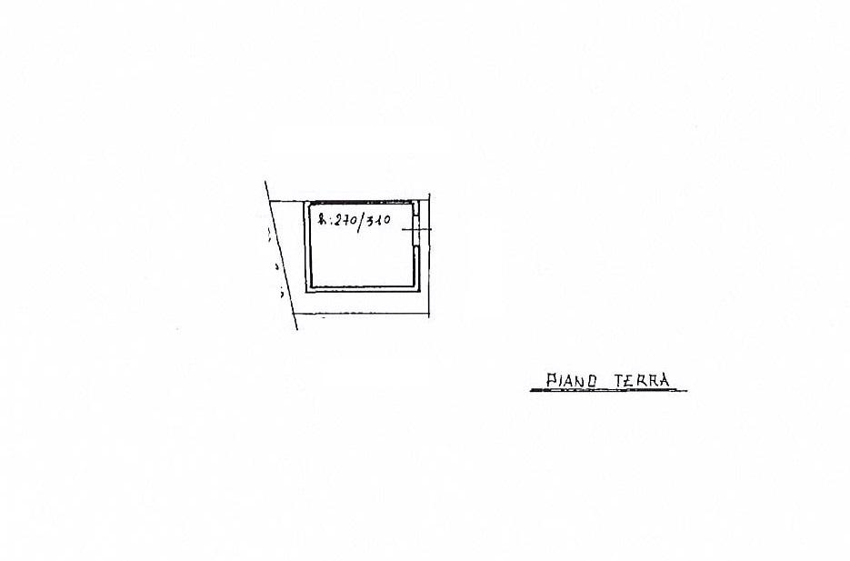 Planimetria 3/4 per rif. 2728a