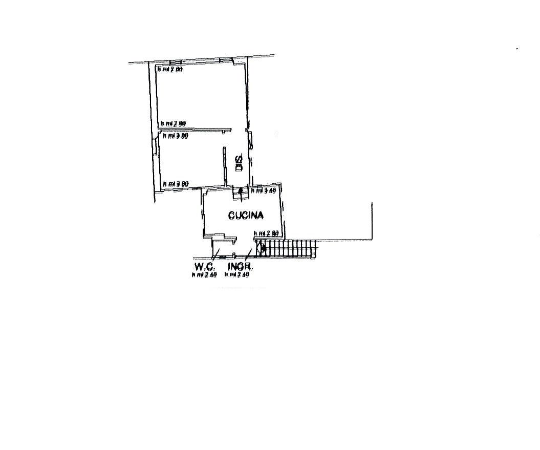 Planimetria 1/2 per rif. 2745a