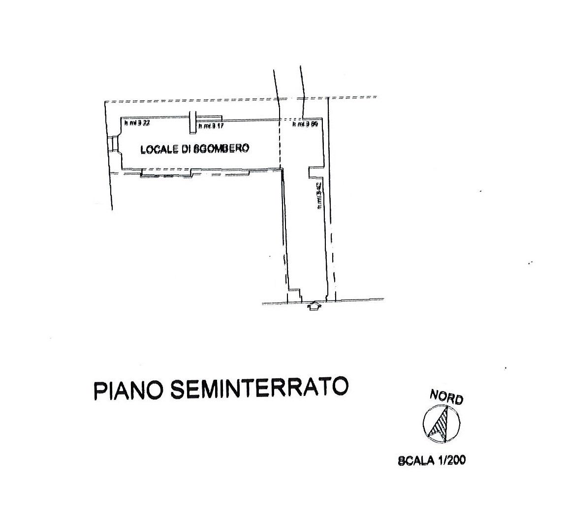 Planimetria 2/2 per rif. 2745a