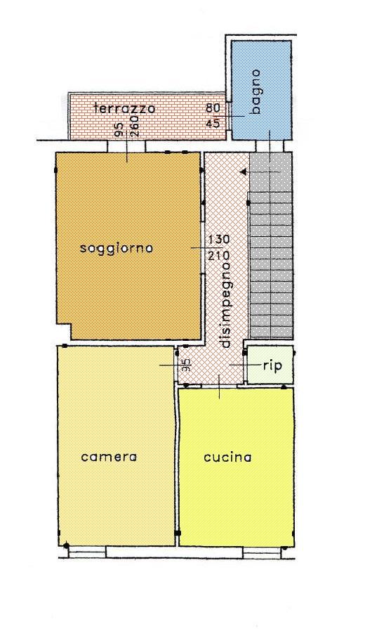 Planimetria 1/1 per rif. 2962